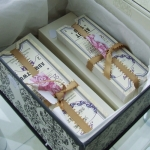 Tickets packaged in box